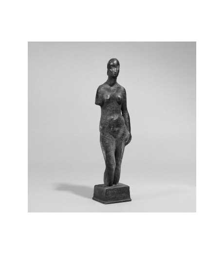 Female figure in bronze by Jussuf Abbo